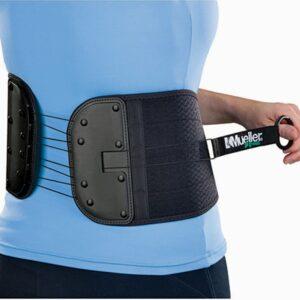 Suporte dorsal e abdominal