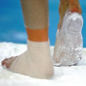 Suporte de Magnésia para pés
